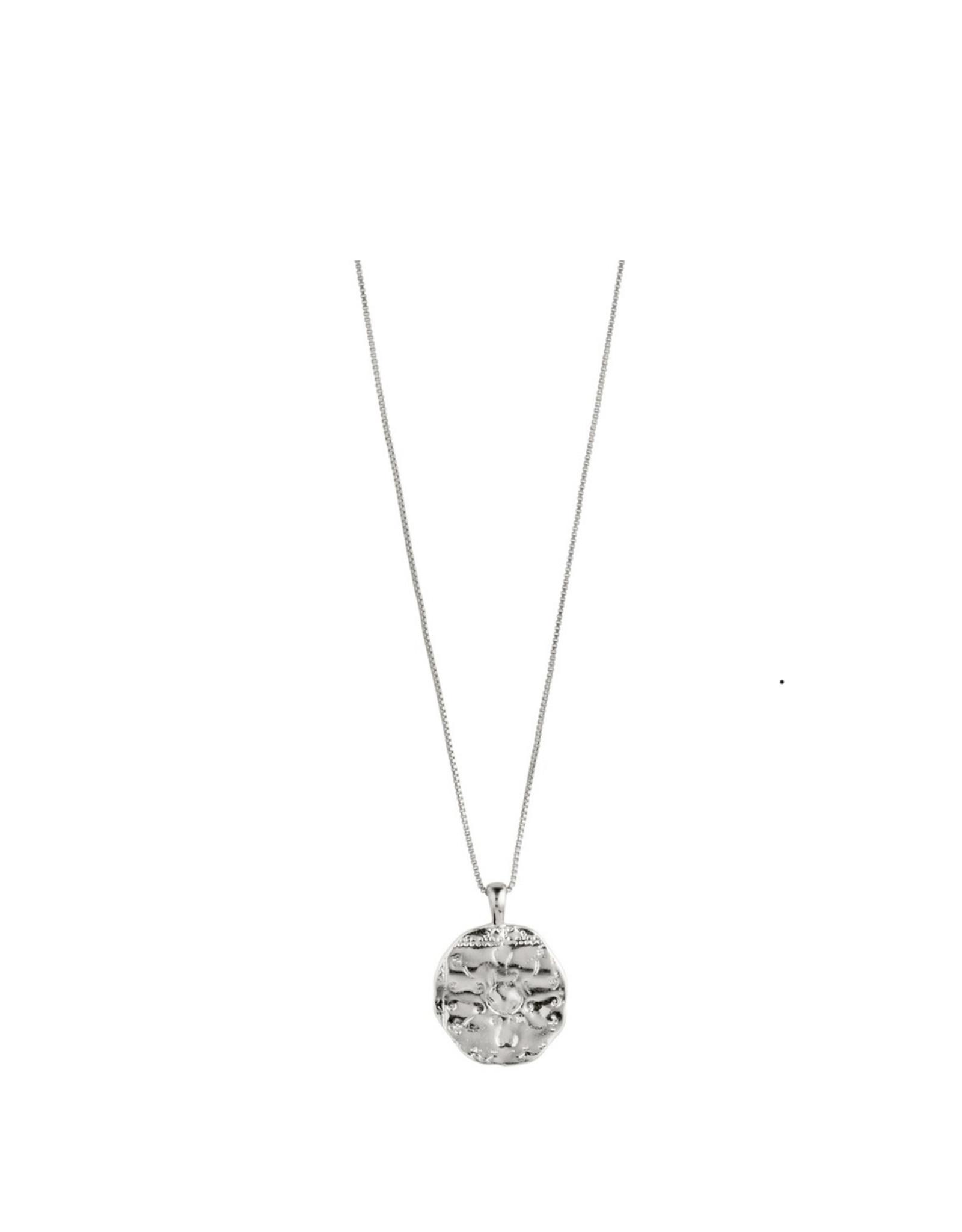 Pilgrim Pilgrim, Affection Necklace, Silver Plated