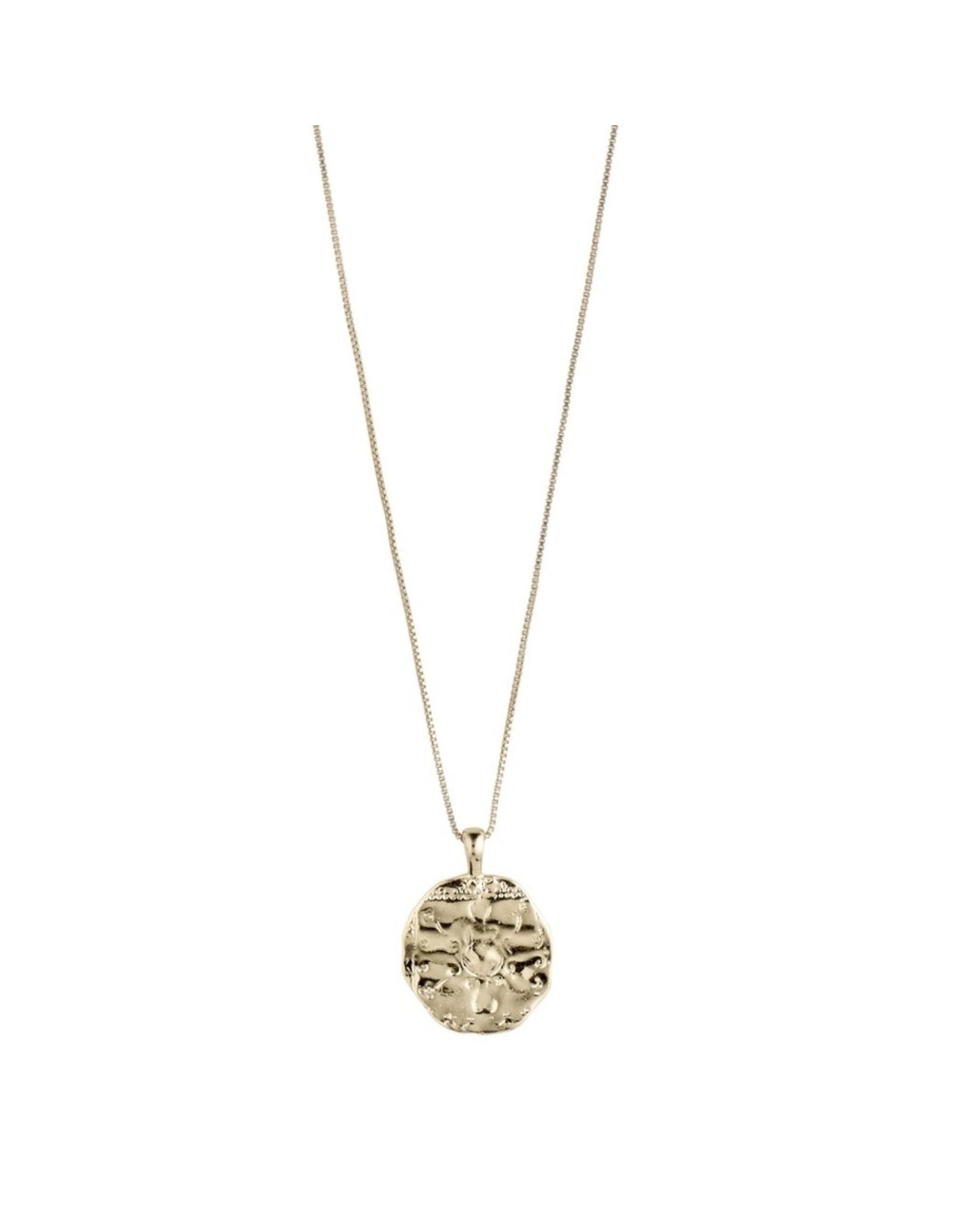 Pilgrim Pilgrim Necklace Affection, Gold Plated