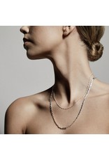 Pilgrim Pilgrim, Necklace Intuition, 2 Separate Chains, silver Plated
