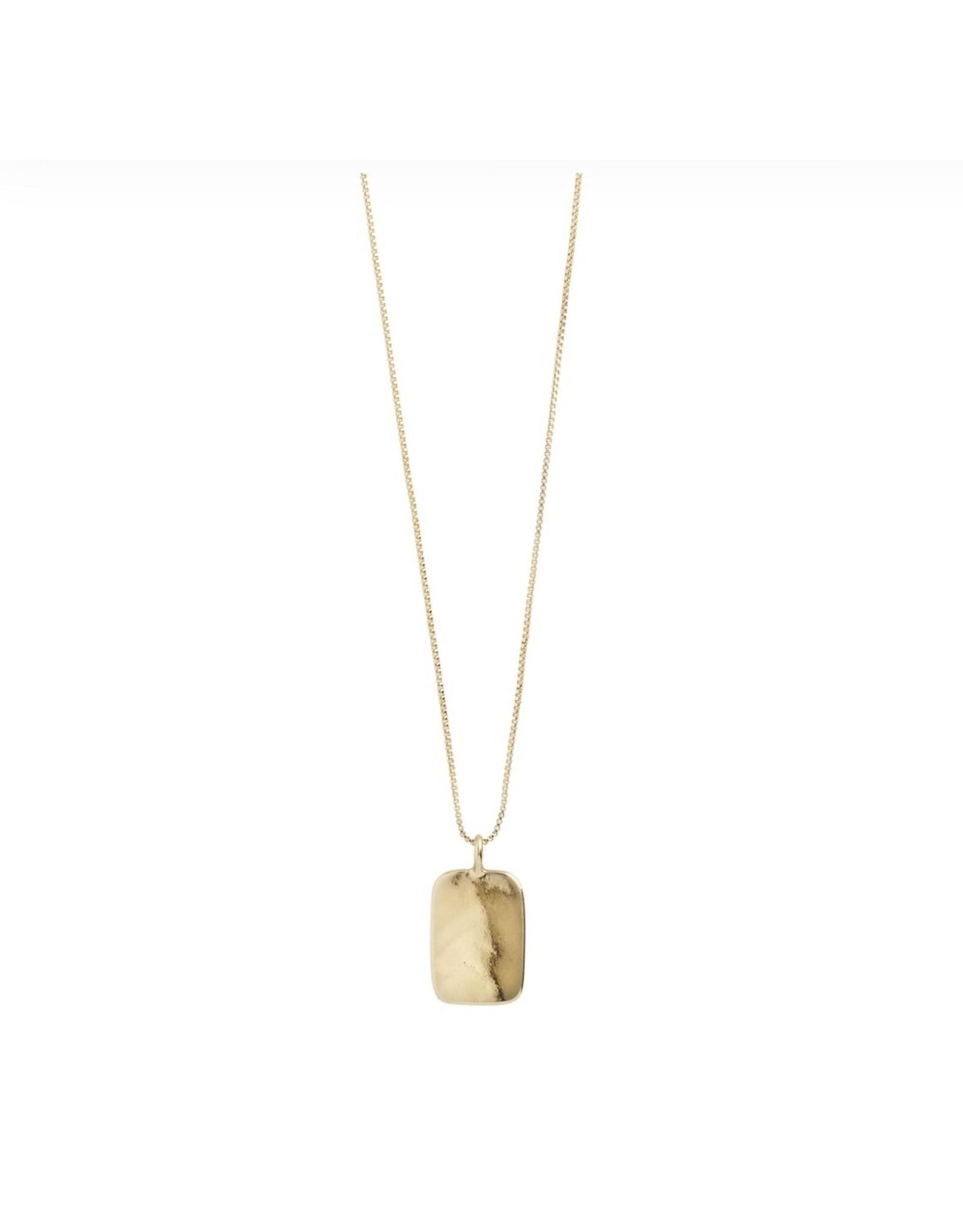 Pilgrim Pilgrim Necklace, Intuition, Gold Plated