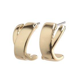 Pilgrim Pilgrim Earrings, Melia, Gold Plated