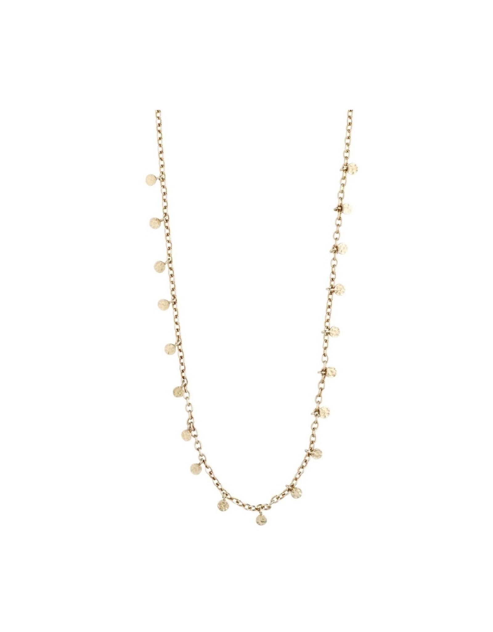 Pilgrim Pilgrim Necklace, Panna, Gold Plated