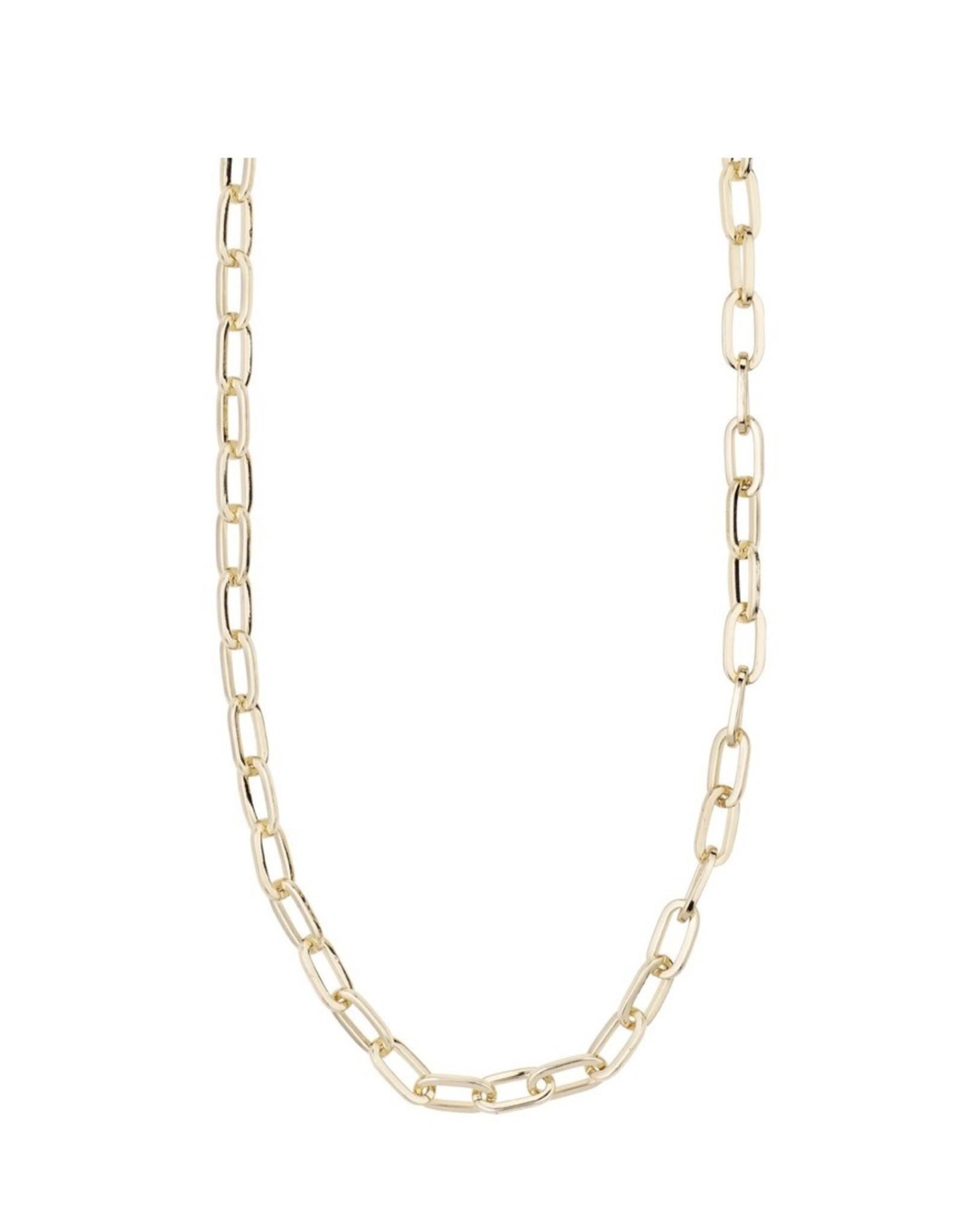 Pilgrim Pilgrim Necklace, BiBi, Gold Plated