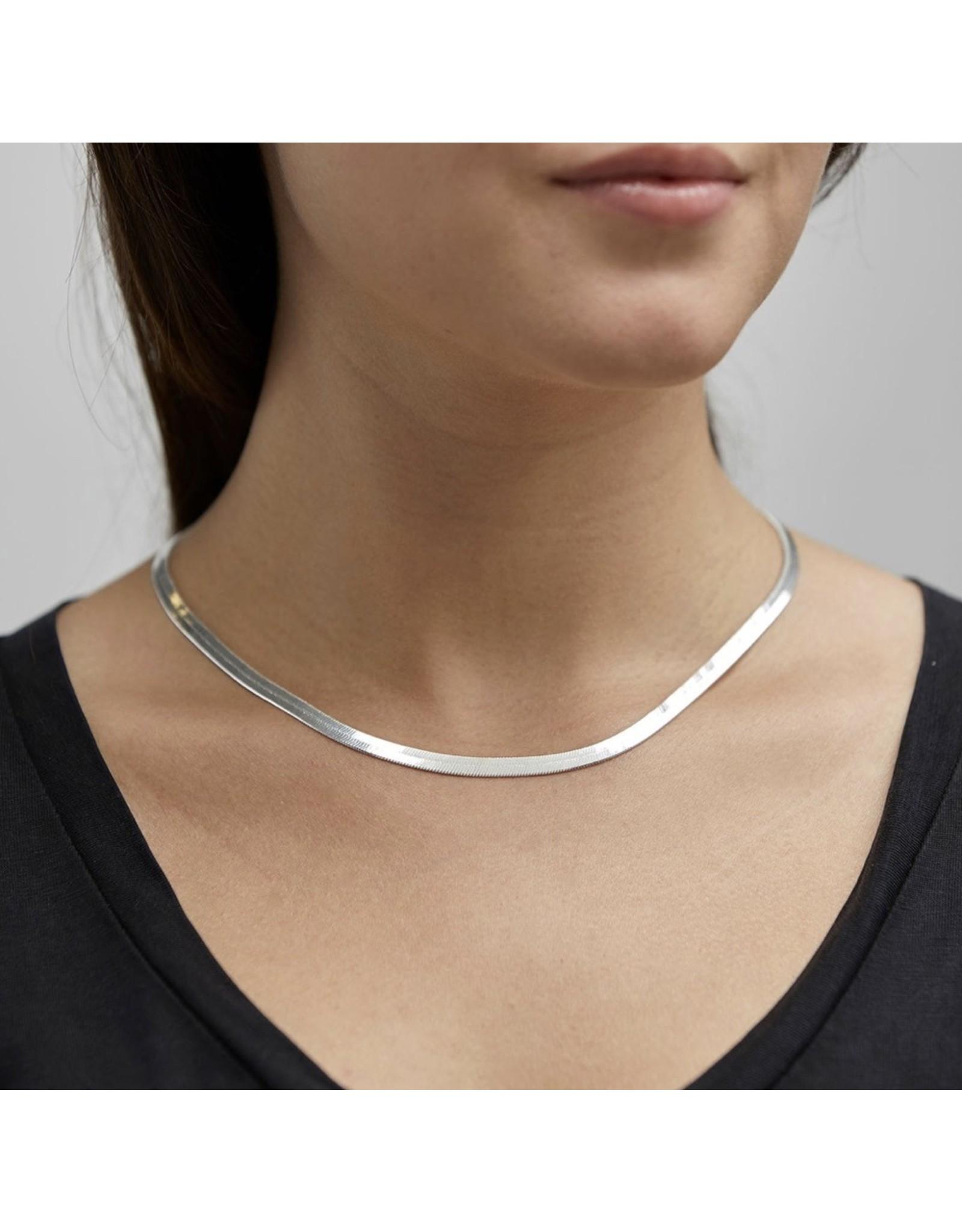 Pilgrim Pilgrim Necklace, Noreen, Silver Plated