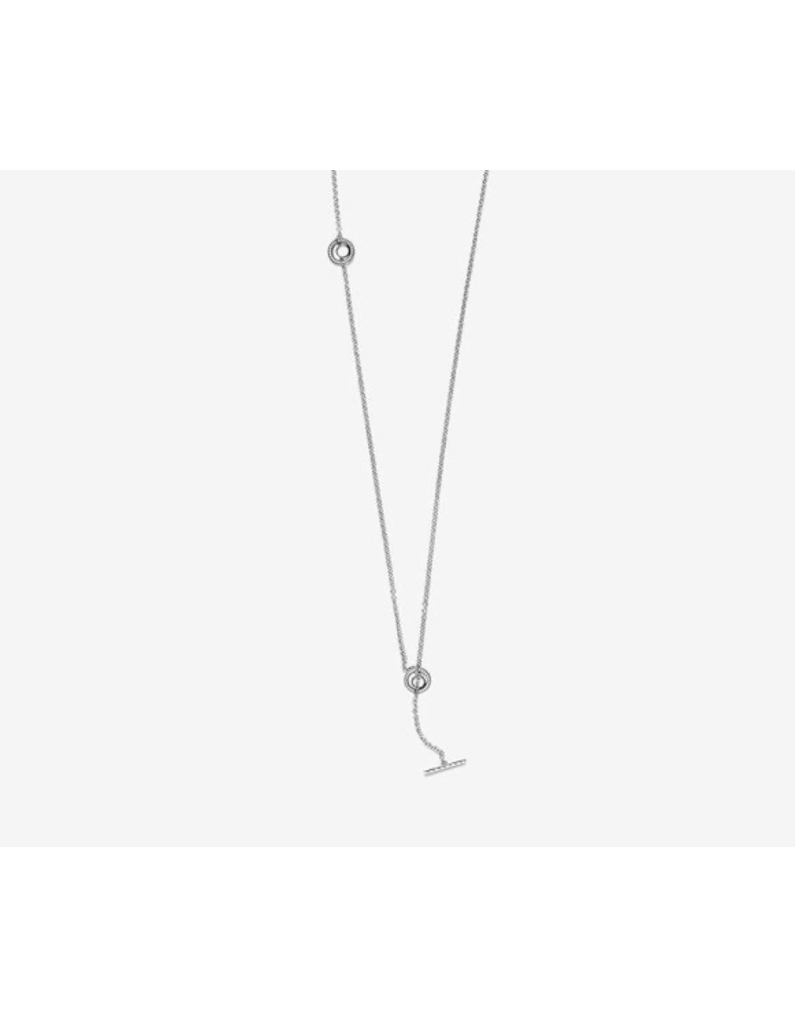 Pandora Pandora Signature Necklace 399050C01,Statement, Sterling Silver/80 cm