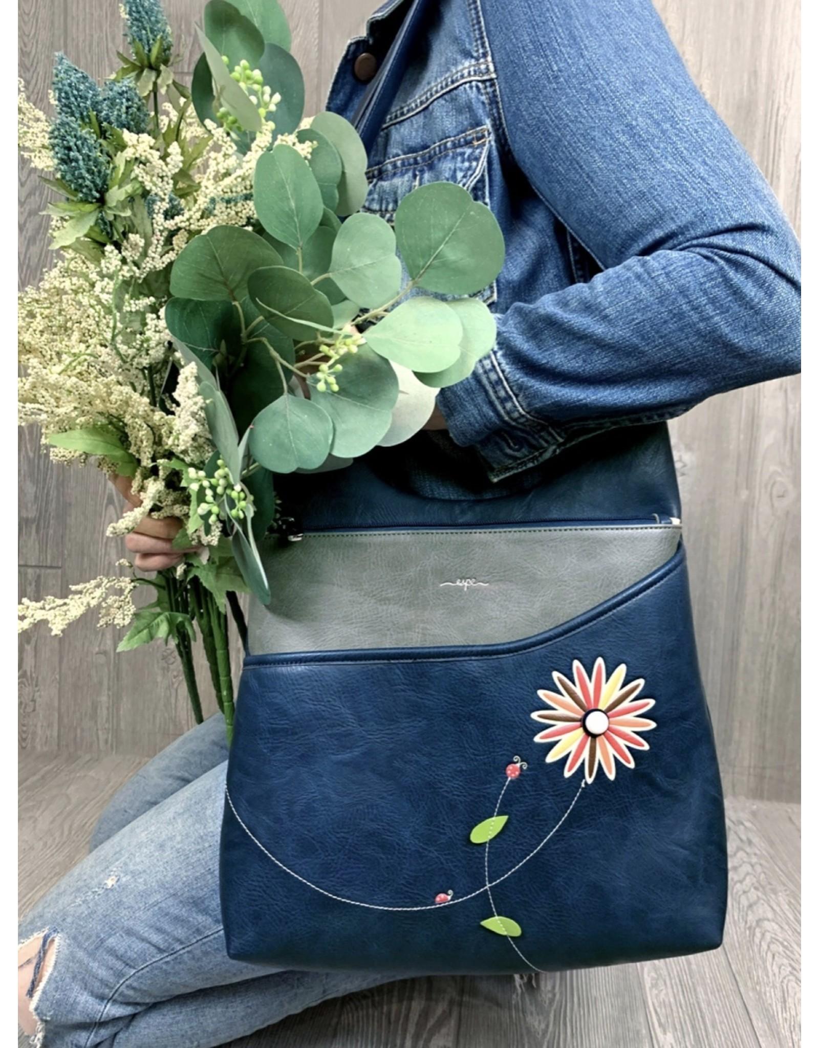 Espe, Lira Messenger Bag, Grey