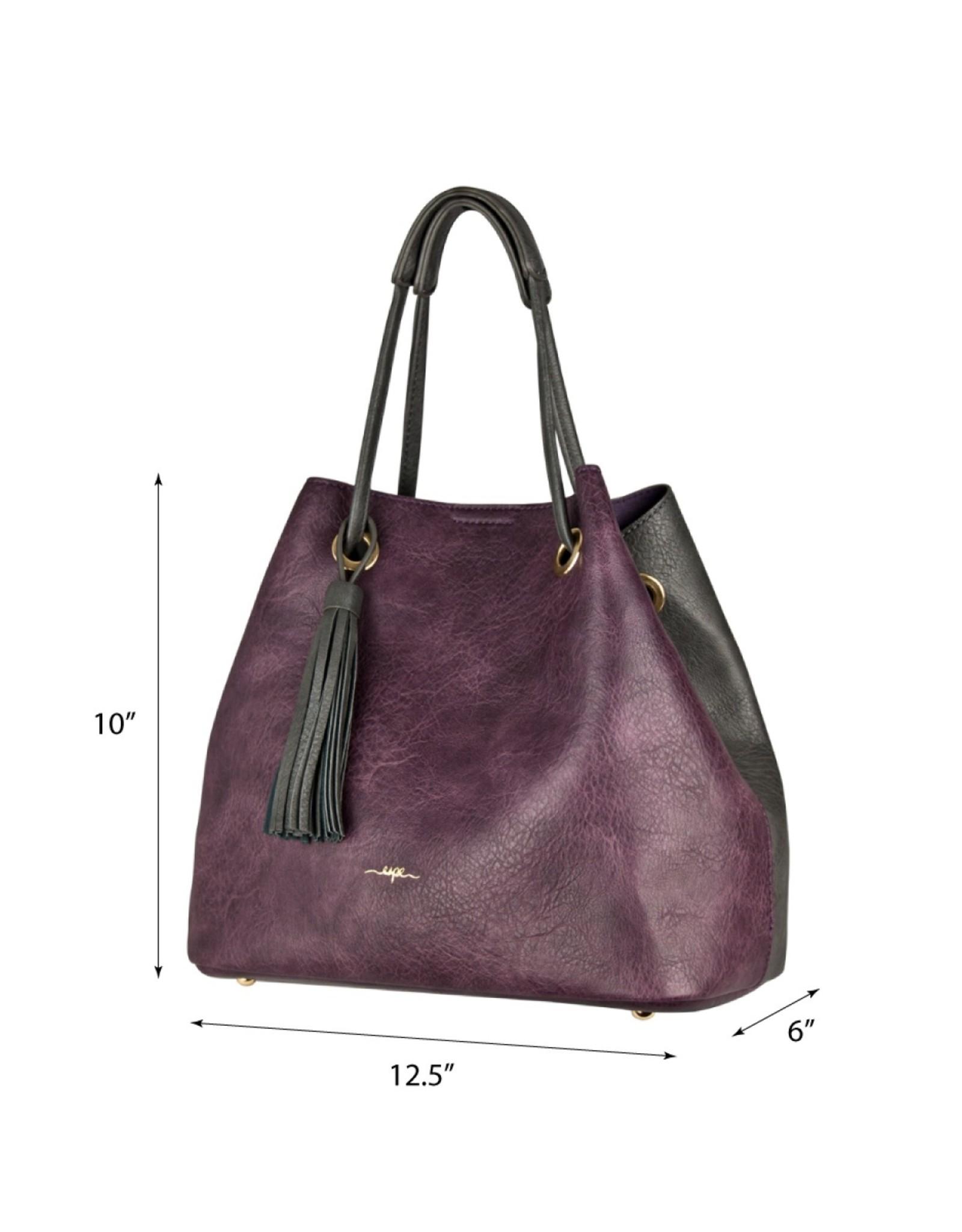 Espe, Emely 2in1 Purple/Grey Purse