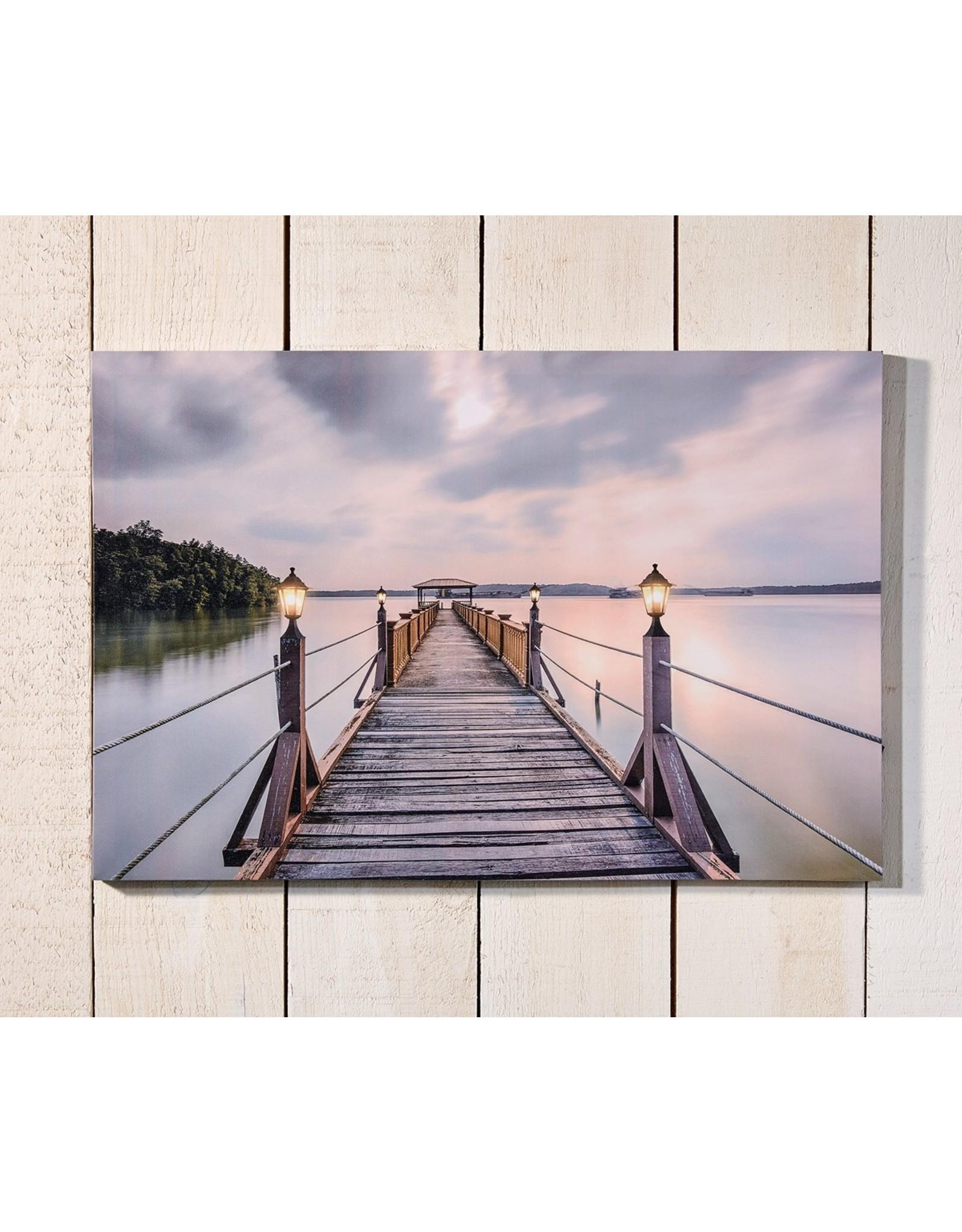 Dock Wall Print, LED