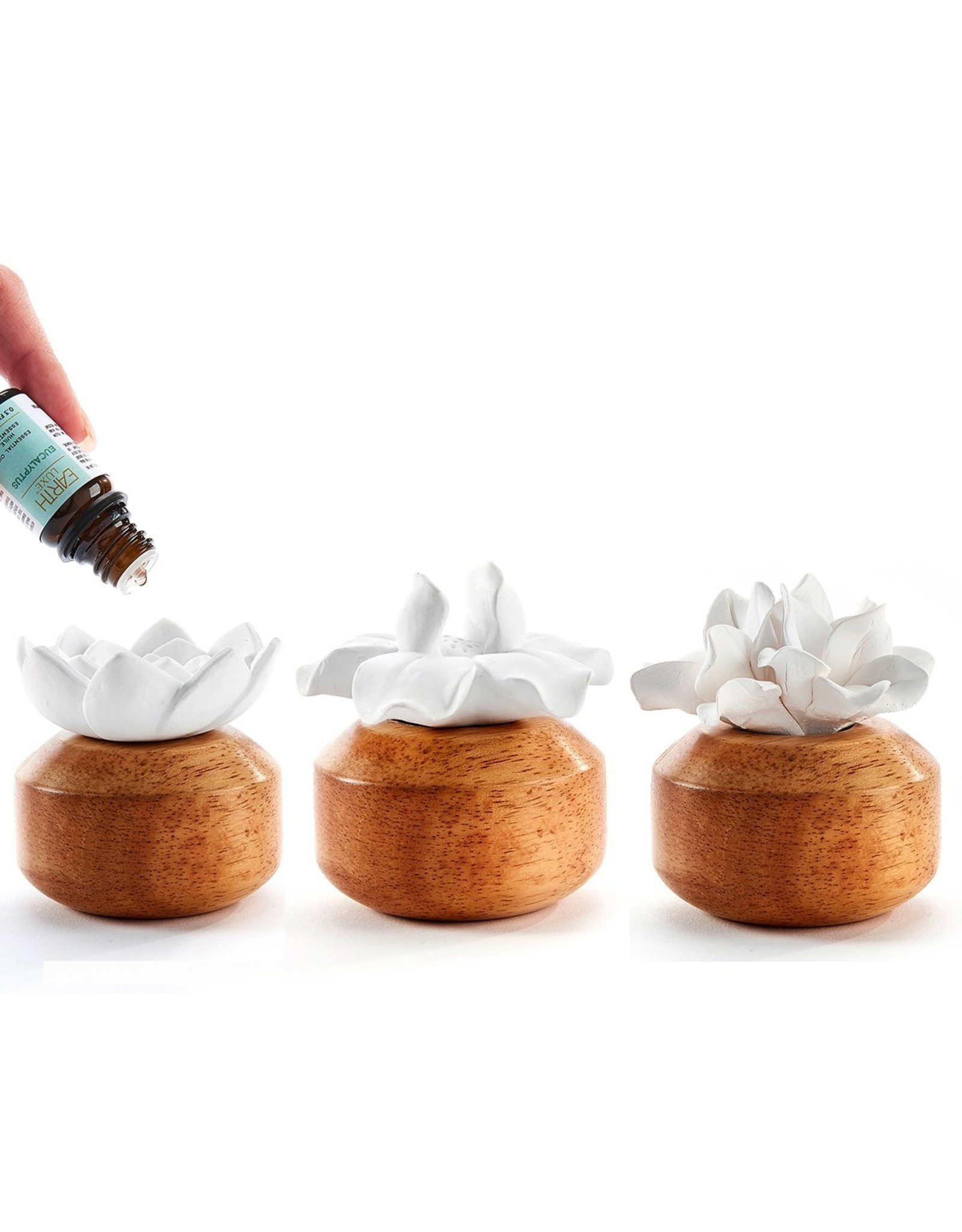 Flower Diffuser With Fragrance Oil