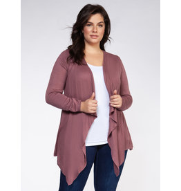 Dex Plus Waterfall Sweater Cardigan