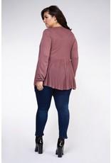 Dex Plus Waterfall Sweater Cardigan