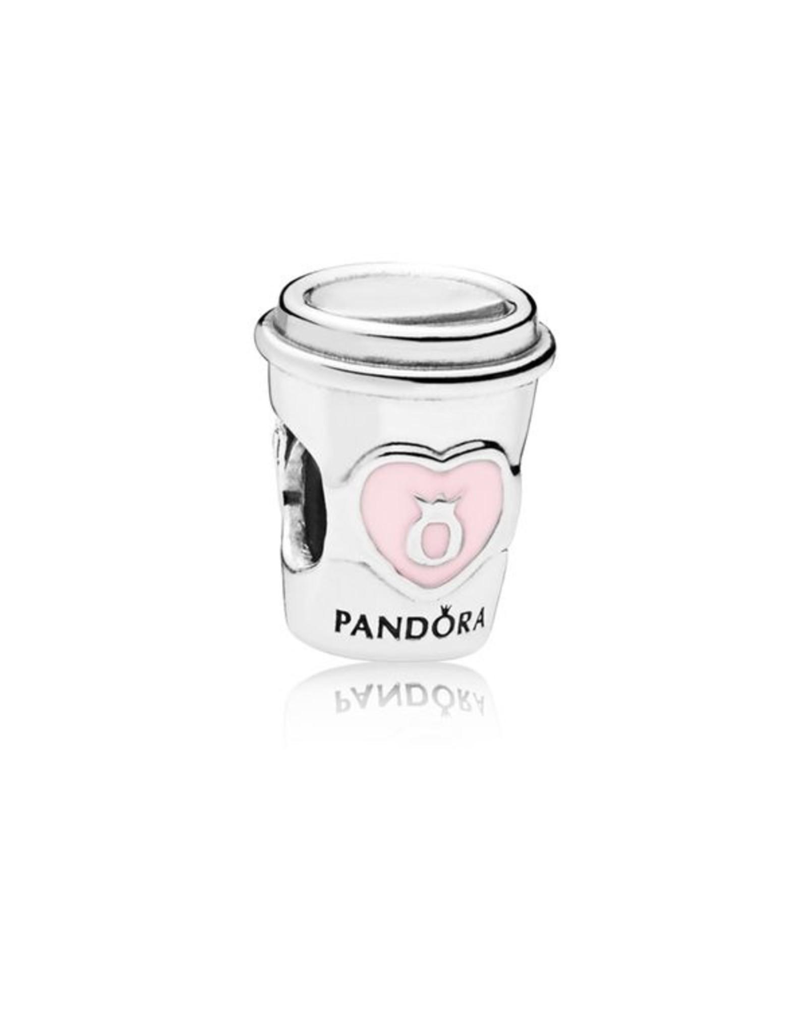 Pandora Pandora Charm, 797185EN160, Take A Break Coffee Cup
