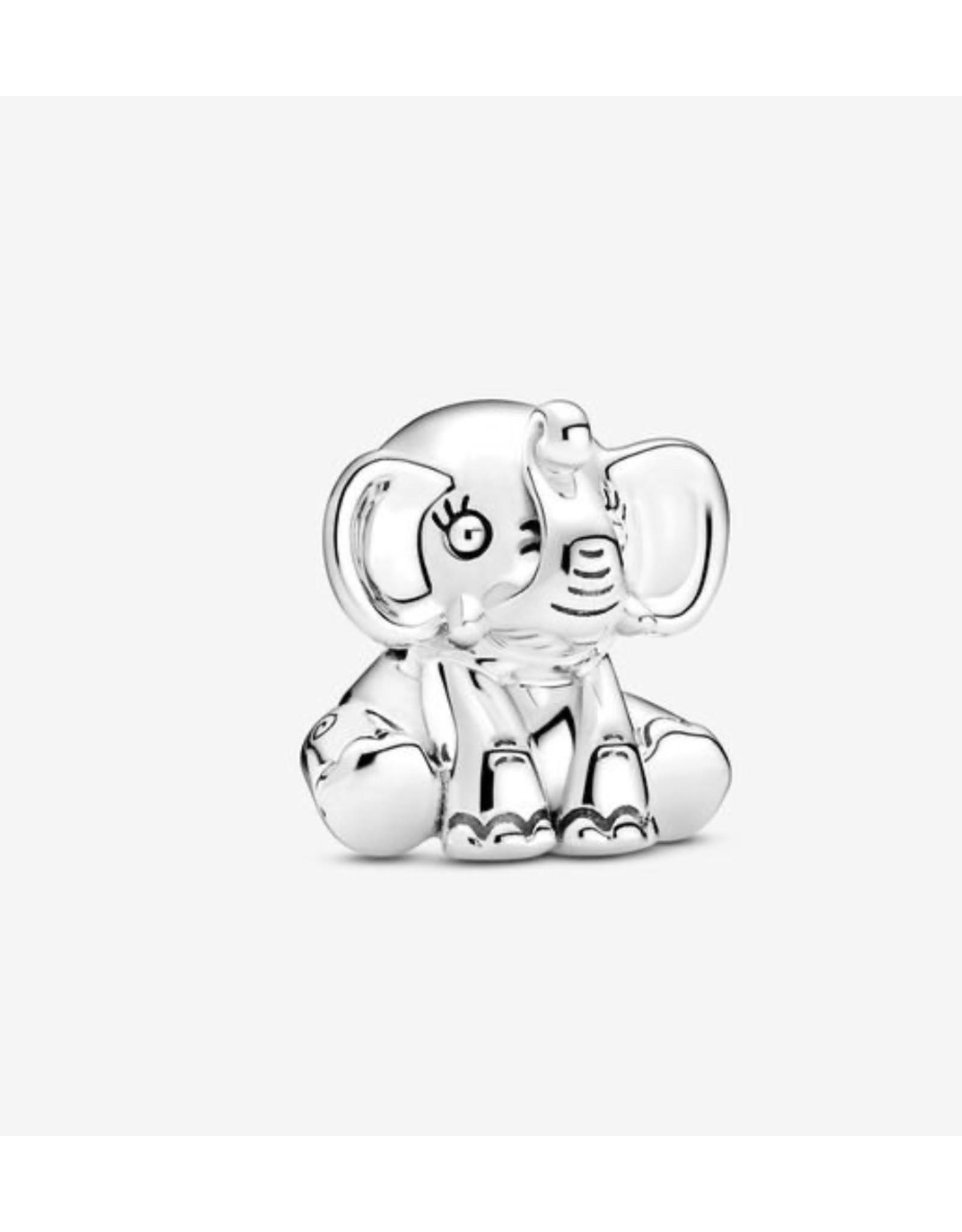 Pandora Pandora Charm,799088C00, Ellie The Elephant, Sterling Silver
