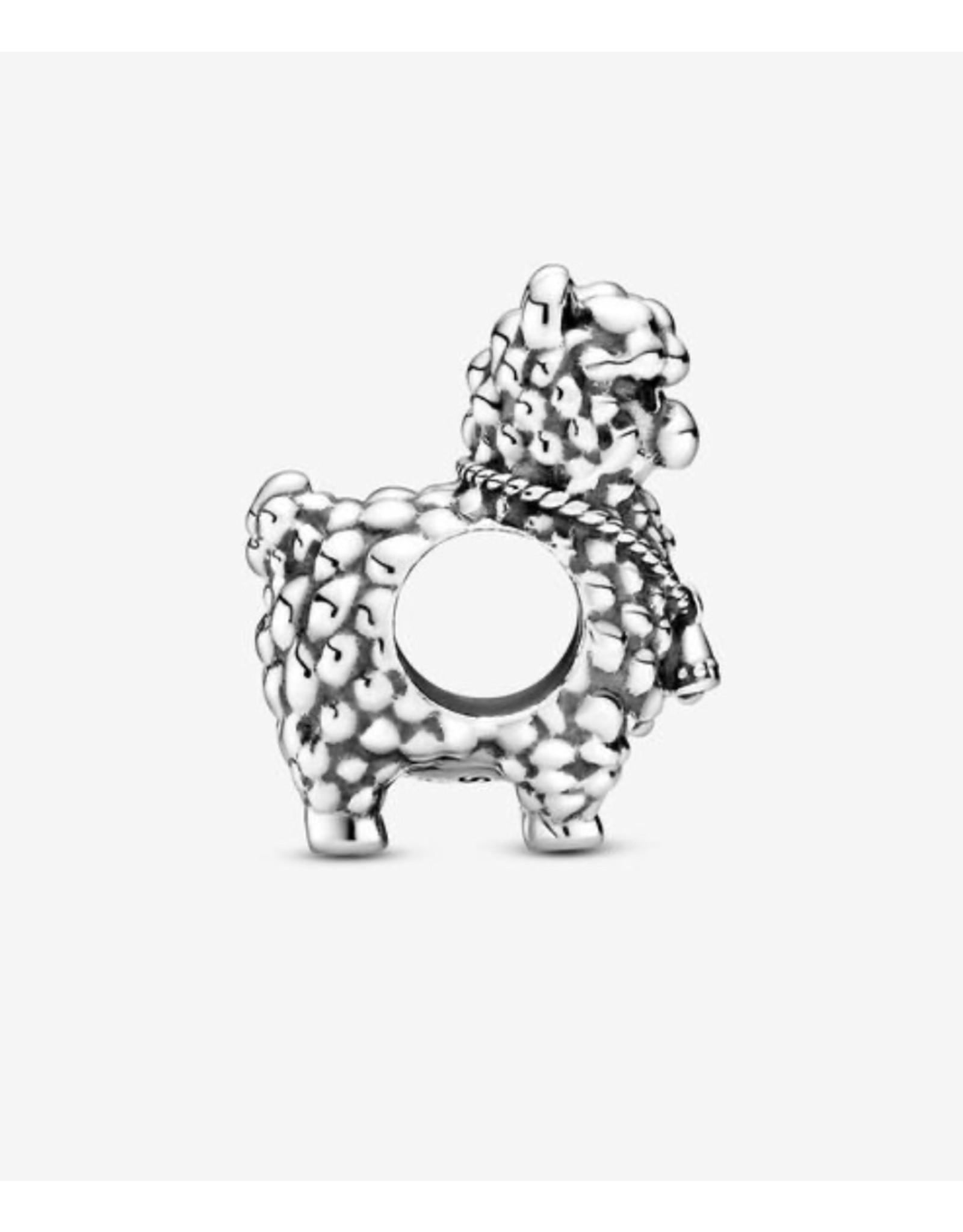 Pandora Pandora Charm,799069C00 Fluffy Llama, Sterling Silver