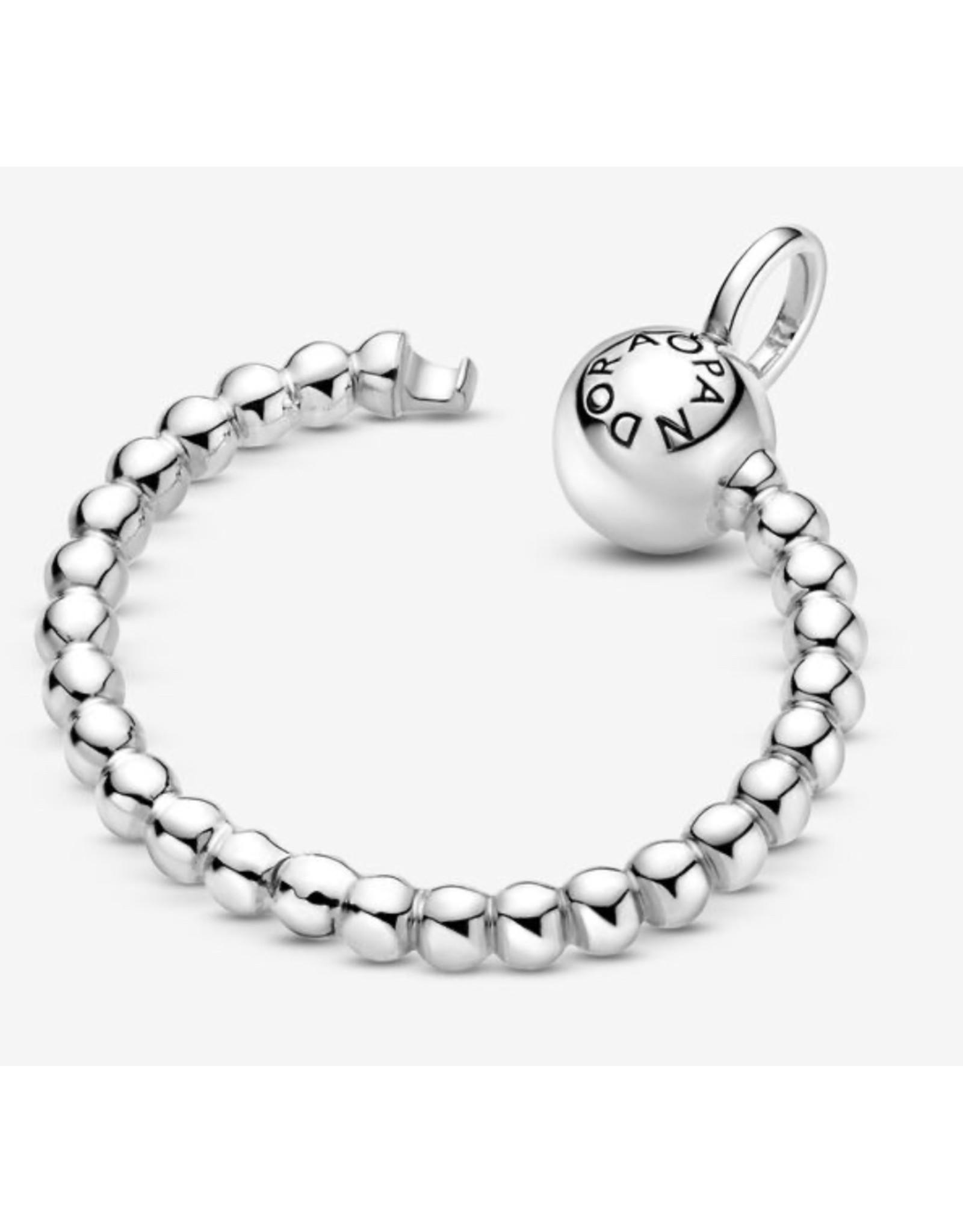 Pandora Pandora Moments Pendant,399077C00, Small Beaded O Pendant