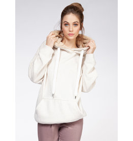 Hoodie With Faux Fur Lining