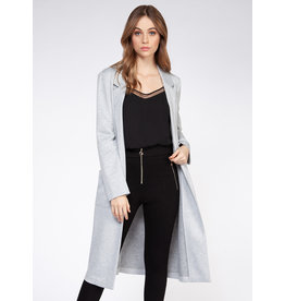 Midi Length Knit Blazer
