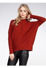 Long Sleeve Mock Neck Sweater