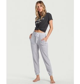 Cozy Coast, Soft Cozy Pull on Rib Knit Pant