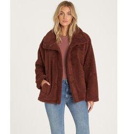Cozy Days, Soft  Polar Fleece Snap Through Jacket