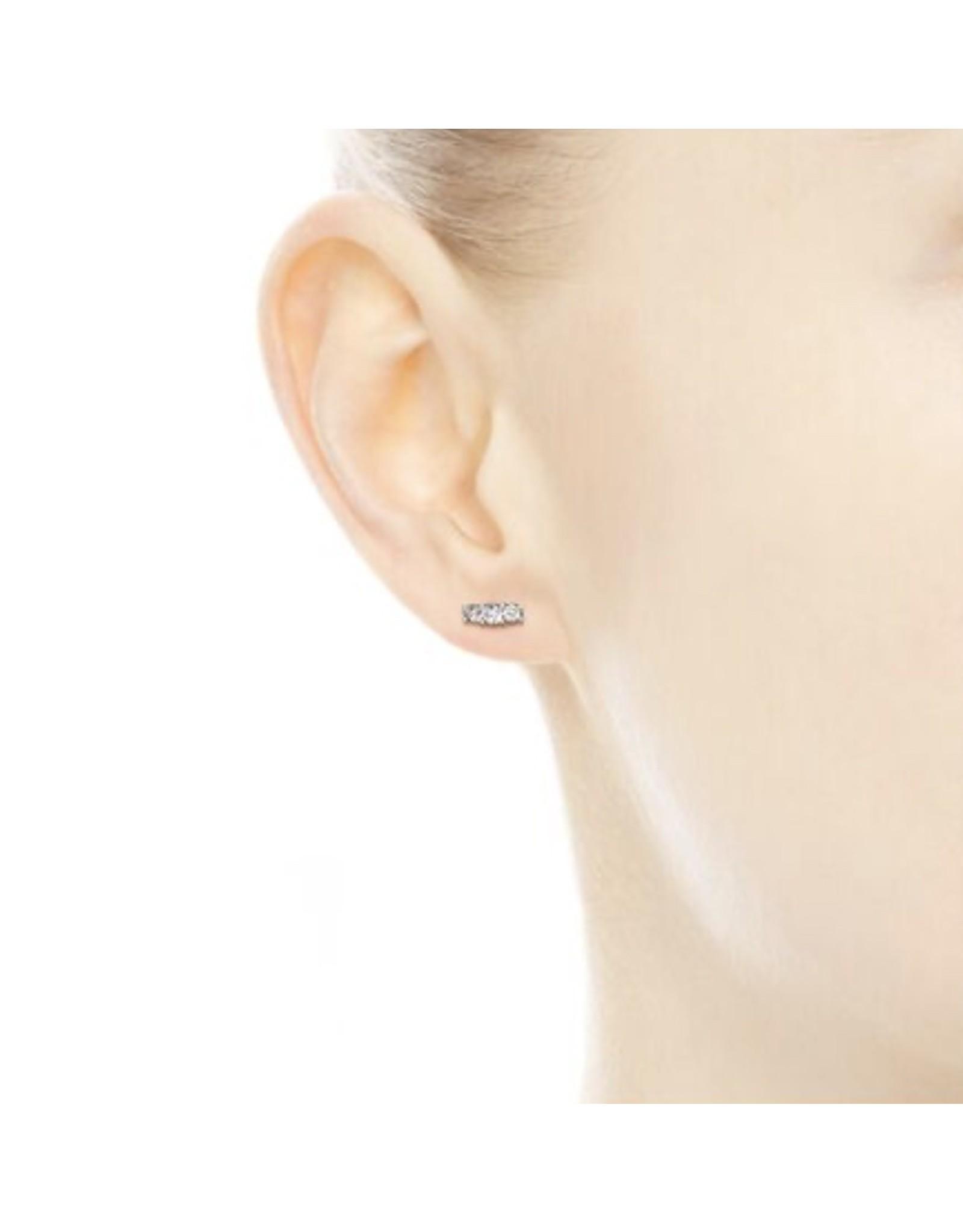 Pandora Pandora Earrings, 290725CZ,Sparkling Stud, Sterling Silver Clear CZ