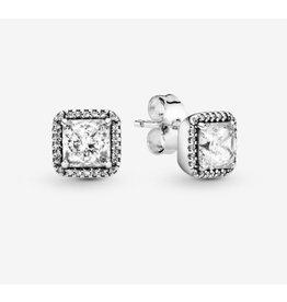 Pandora Pandora Earring (290591CZ) Timeless Elegance, Clear CZ