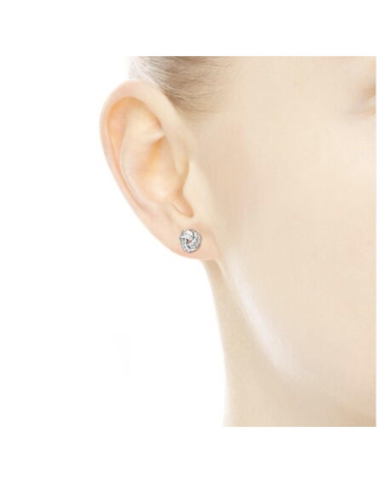Pandora Pandora Earring Studs(290696CZ) Sparkling Love Knots with Clear CZ