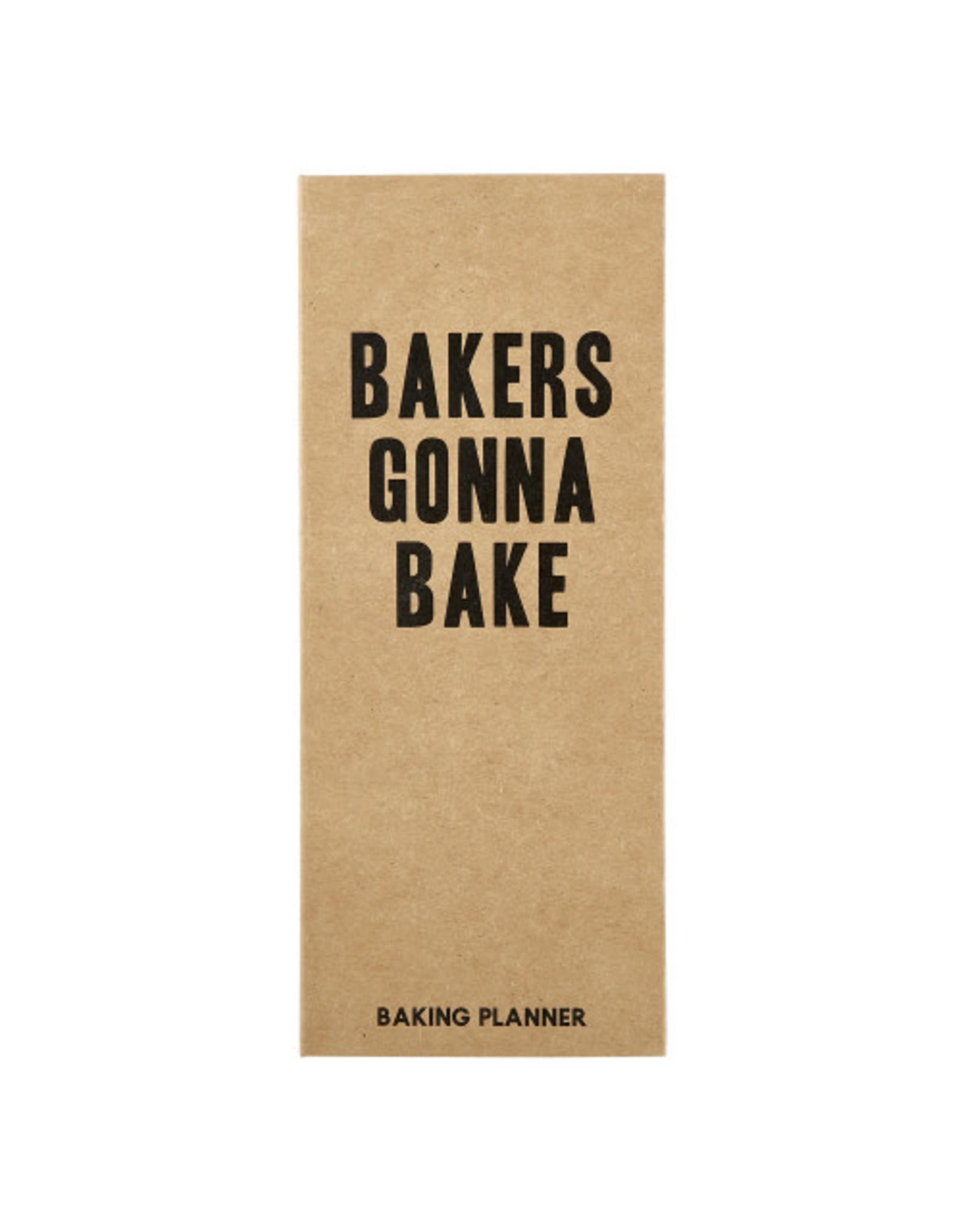 Creative Brands Baker's Gonna Bake Planner