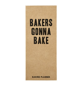 Creative Brands Baker's Gonna Bake Planner