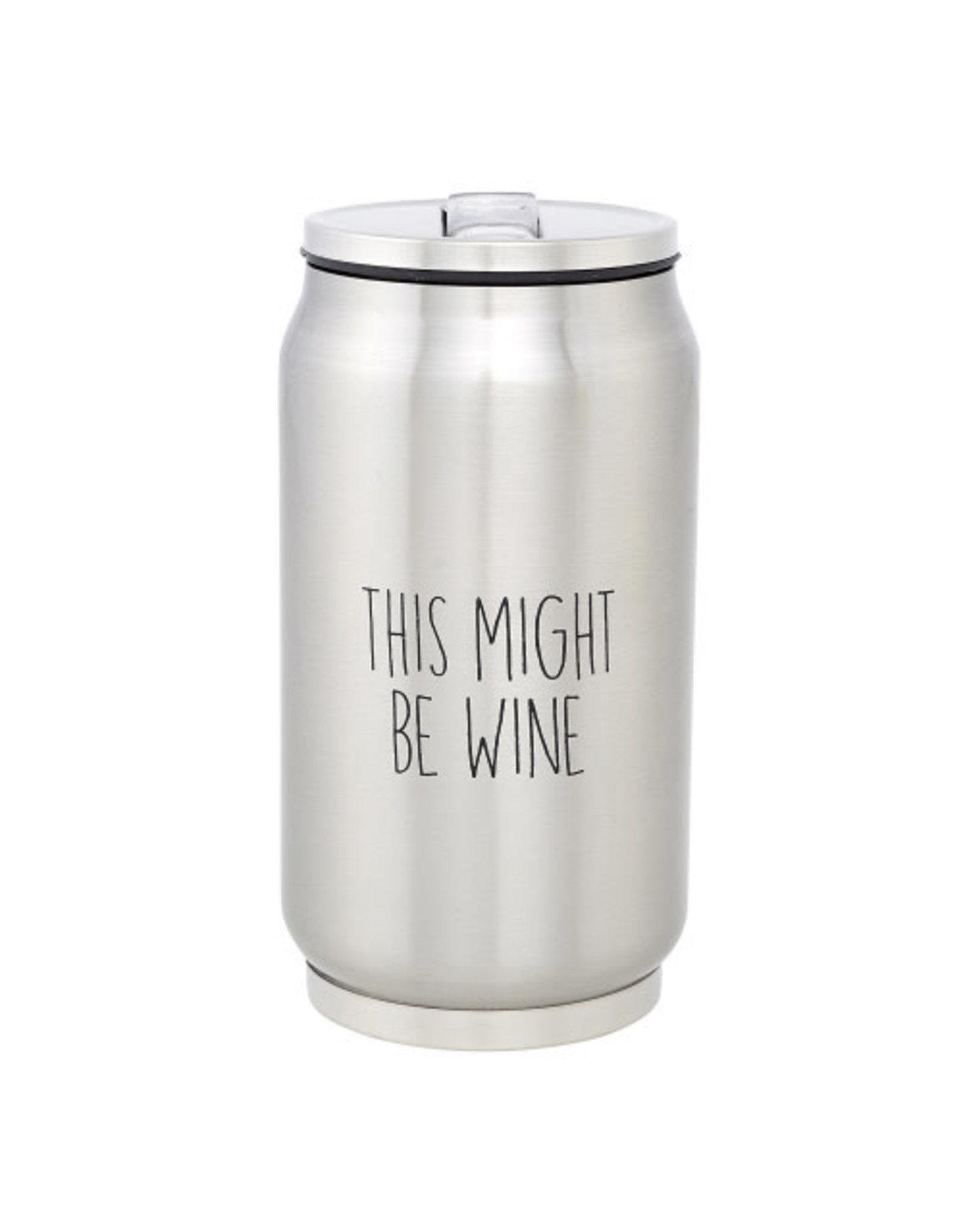 Creative Brands Stainless Steel Can, This Might Be Wine