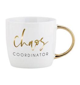 Creative Brands Gold Handle Mug, Chaos Coordinator