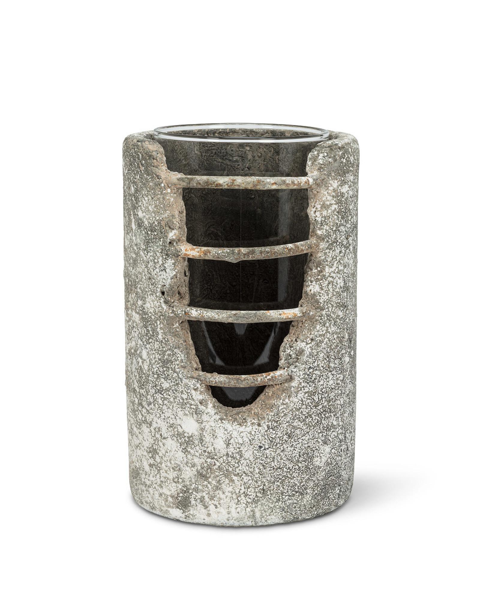 Medium Grid Cylinder Lantern