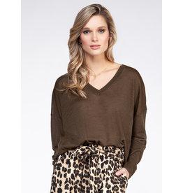 Long Sleeve, V-Neck Sweater