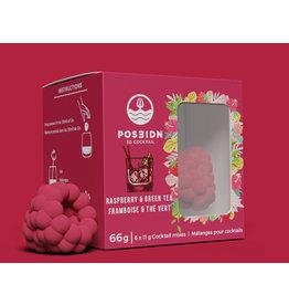 Poseidon 3D Cocktail, Raspberry & Green Tea