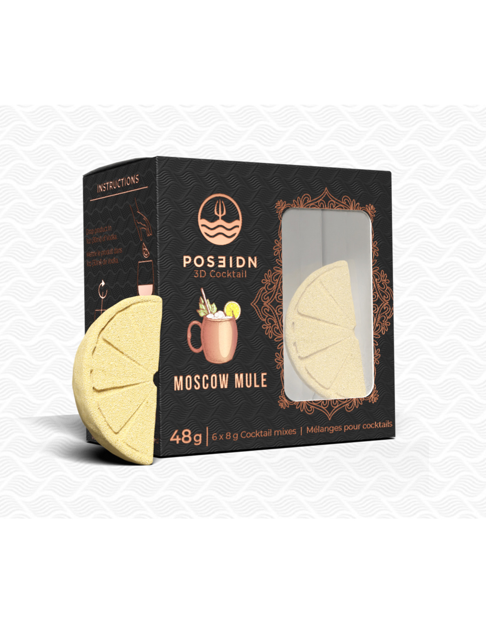 Poseidn 3D Cocktail Moscow Mule