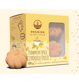 Poseidon 3D Latte, Pumpkin Spice