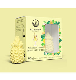 Poseidon 3D Cocktail, Pineapple & Coconut
