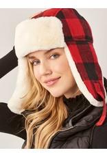 Buffalo Plaid Trapper Hat