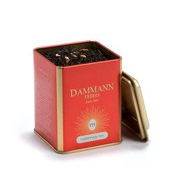 Dammann Thé De Noel Noir, Feuille 100g