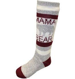 Sherpa Lined Mama Bear Socks