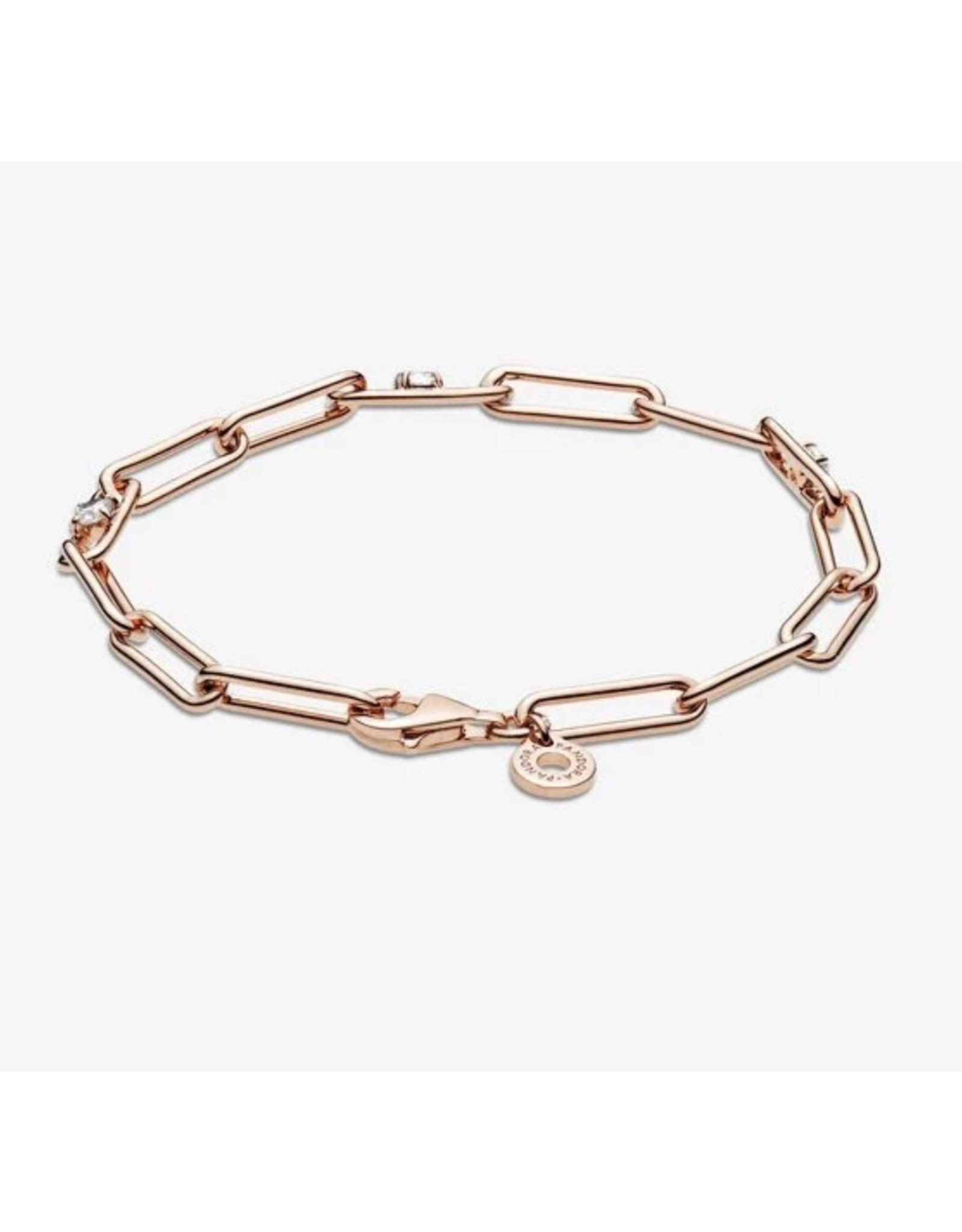 Pandora Pandora Icons Bracelet, 589177C01, Link Chain&Stones
