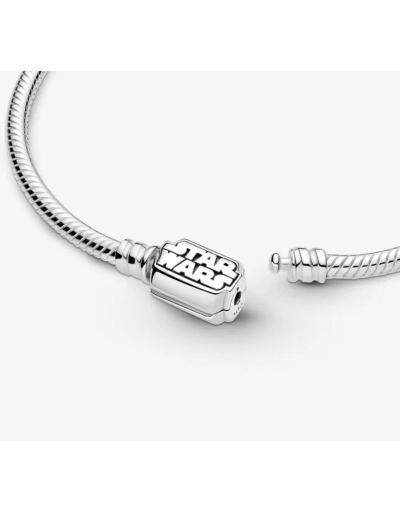 Pandora Pandora Moment Bracelet,599254C00, Star Wars Snake Chain Clasp