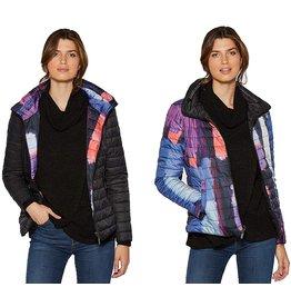 Claire Desjardins Jacket Woven Reversible Black