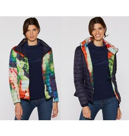 Claire Desjardins Jacket Reversible Navy