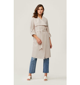 Soia & Kyo Coat Trench Pearl