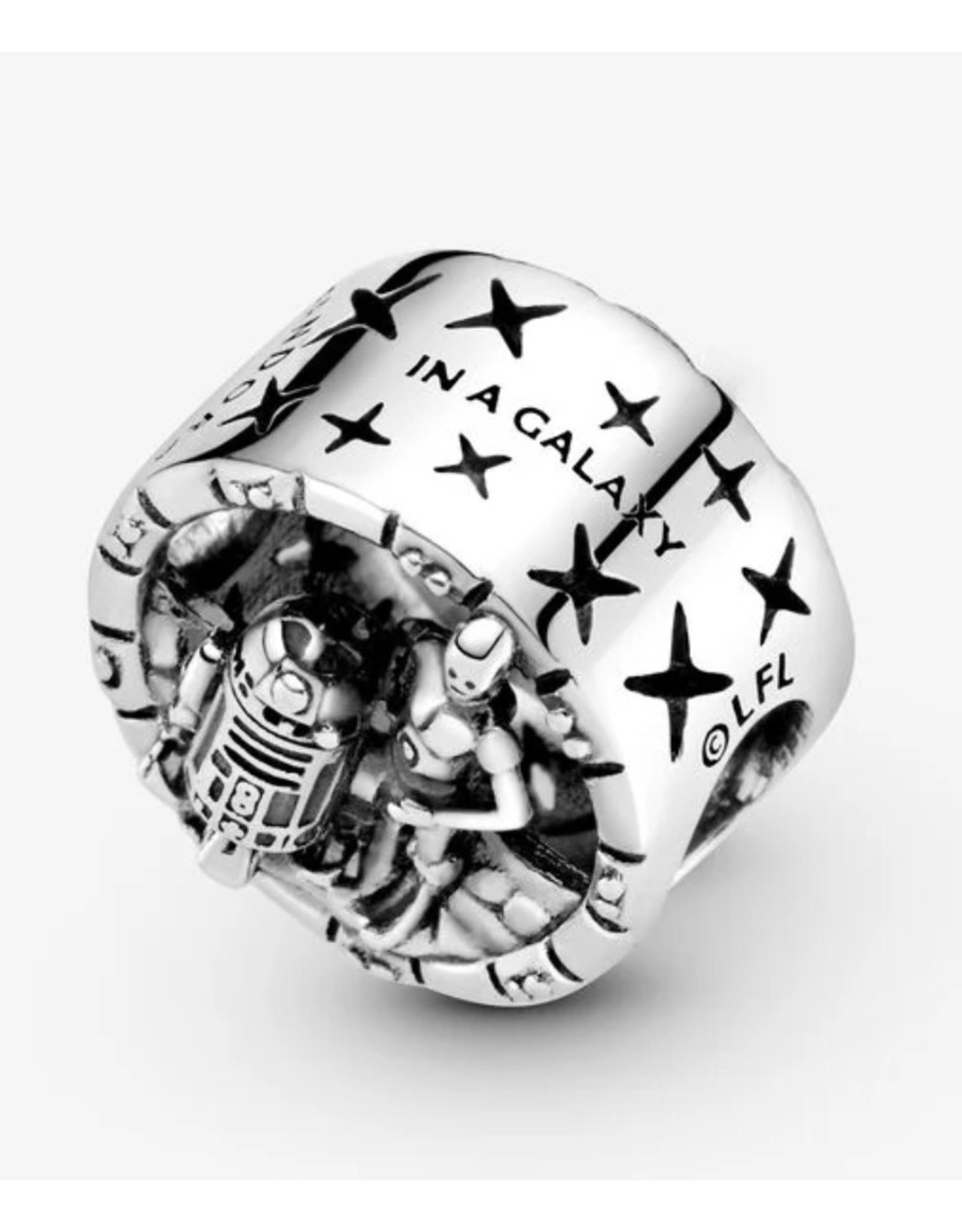 Pandora Pandora Charm, 799245C00, Star Wars C-3PO & R2-D2