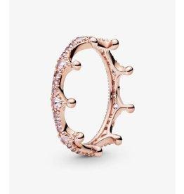 Pandora Pandora Ring, (187087NPO) Rose Gold, Enchanted Crown