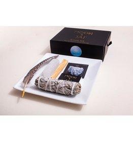 Moon & Jai Ritual Kit, Balance, Blue Calcite