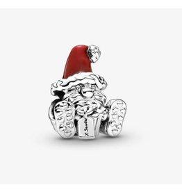 Pandora Pandora Charm,799213C01,Seated Santa Claus & Present