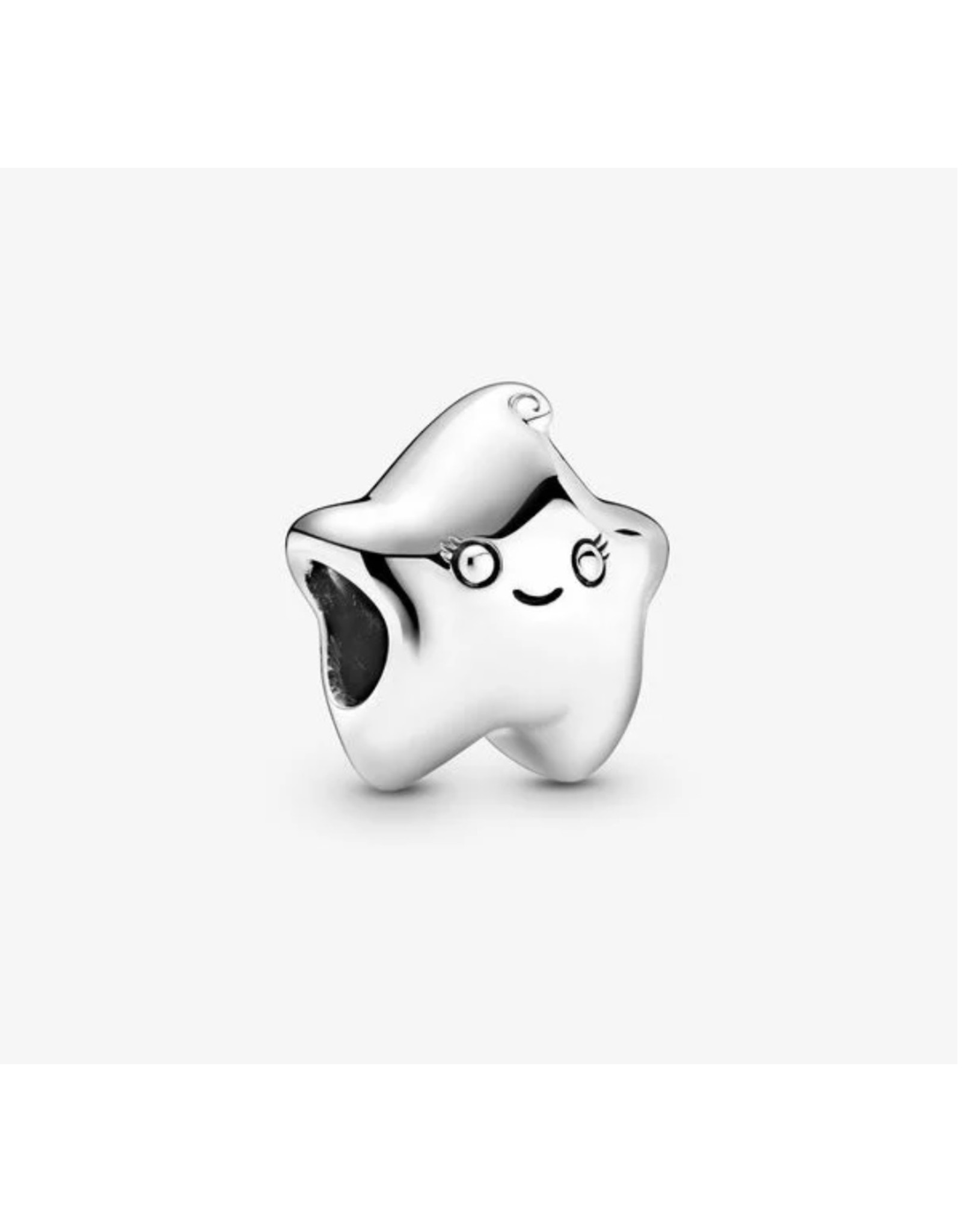 Pandora Pandora Charm,799211C00,Isa The Star, Sterling Silver